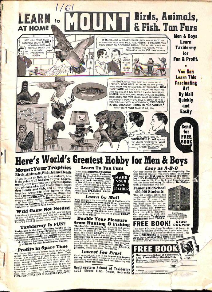 Sports Afield, January 1961