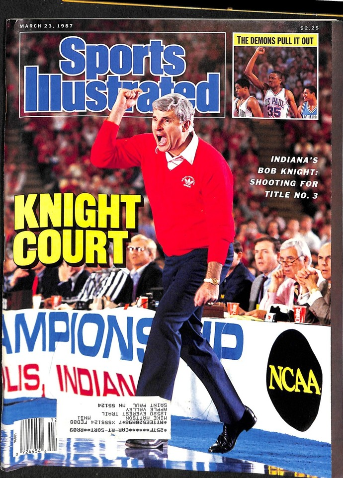 Sports Illustrated Magazine, March 23 1987