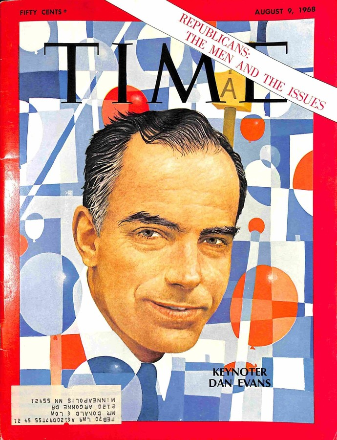 Time, August 9 1968