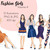 Watercolour fashion illustration clipart - Fashion Girls - Volume 4