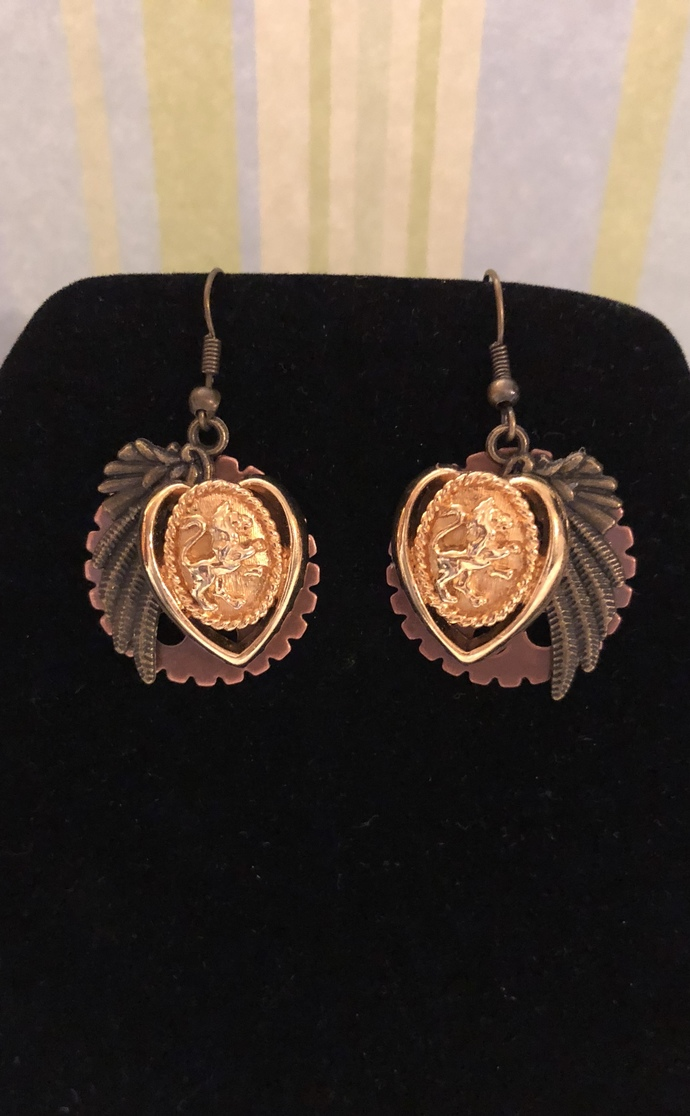 Lionhearted earrings