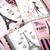 Pink in Paris Napkin Set