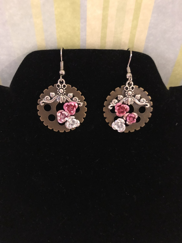 Romantic Rose earrings