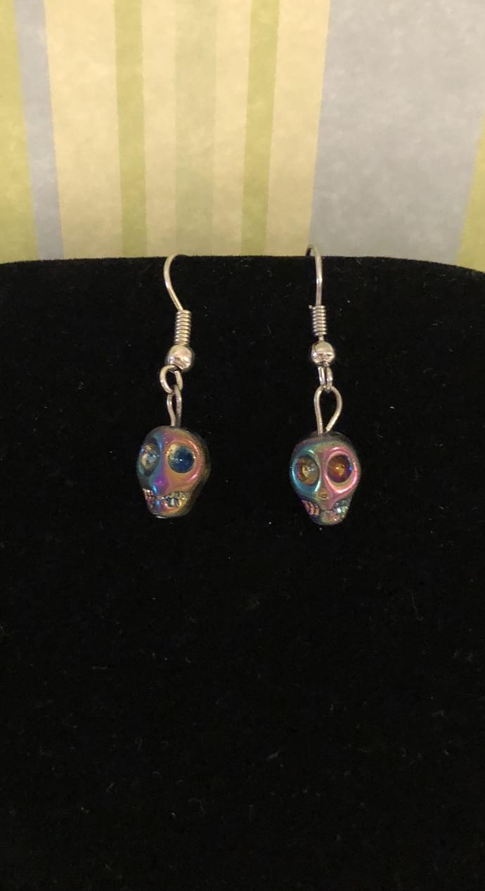 Oilslick Earrings
