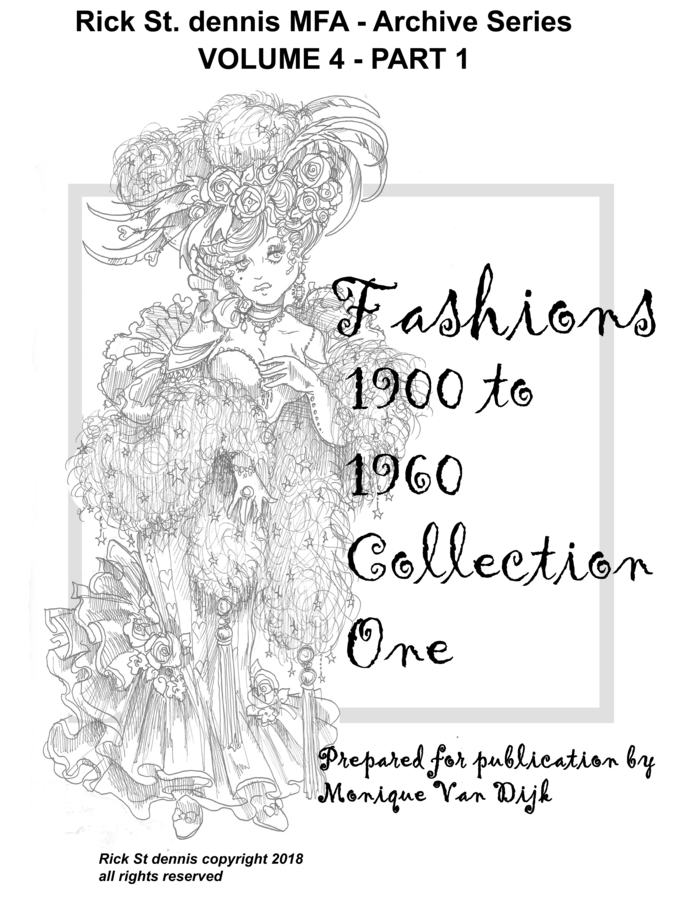 Rick's Archives Volume 4 Fashions 1900 - 1950