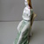 Rare Large Vintage Hungarian Zsolnay porcelain girl with rose