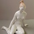 Vintage Aquincum porcelain nude lady,stamped,hand painted