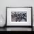 Triathlon on Shadow Sequence - Triathlon Art Print - Ironman Triathlon wall