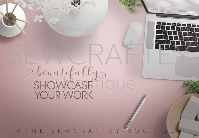 Feminine Desktop l Stock Photo Mockup | Styled Stock | Product Mockup | Styled