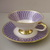 Vintage, art deco style  porcelain tea cup and saucer,Eschenbach Bavaria German