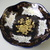 Vintage,Thun porcelain ,blue and golden centerpiece,fruit bowl