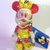 Japan Disney Iridescent Jointed Fancy Coloured Minnie Mouse In Yellow Dress Cell