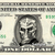 Jason X on a REAL Dollar Bill Cash Money Collectible Memorabilia Celebrity