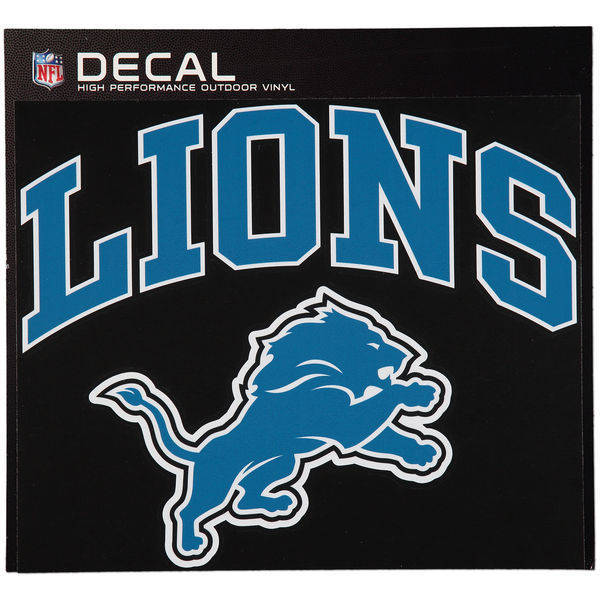 Detroit Lions Cornhole Decals - 11.5 x 9 Full Color Licensed NFL - Buy 2 And Get