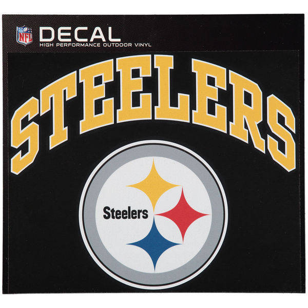 Pittsburgh Steelers Cornhole Decals - 11.5 x 9 Full Color Licensed NFL - Buy 2
