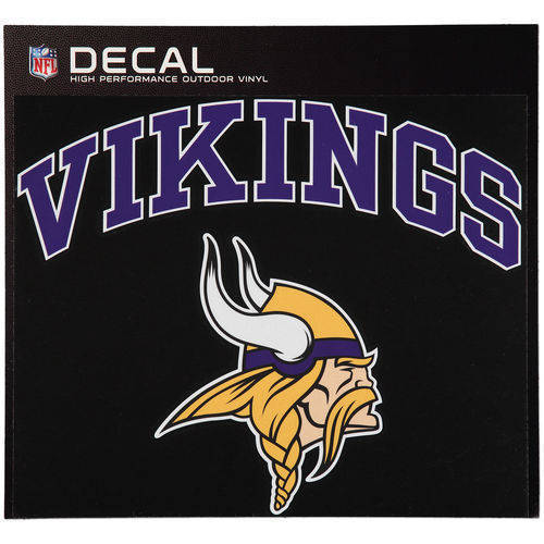 Minnesota Vikings Cornhole Decals - 11.5 x 9 Full Color Licensed NFL - Buy 2 And