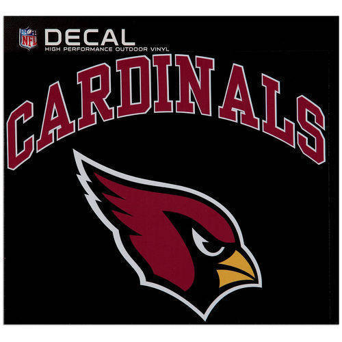Arizona Cardinals Cornhole Decals - 11.5 x 9 Full Color Licensed NFL - Buy 2 And