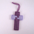 Cross Ornament in Shades of Purple