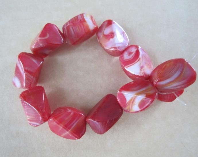 Swirl Glass Nuggets