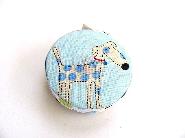 Measuring Tape Spotted Cartoon Dogs Retractable Tape Measure