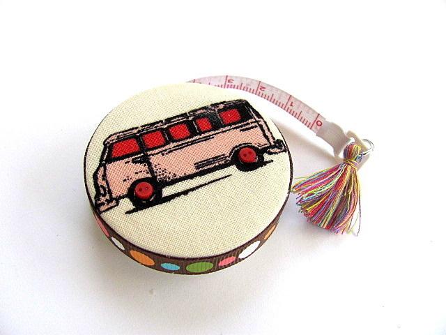 Tape Measure VW Van Mini Bus Retractable Measuring Tape