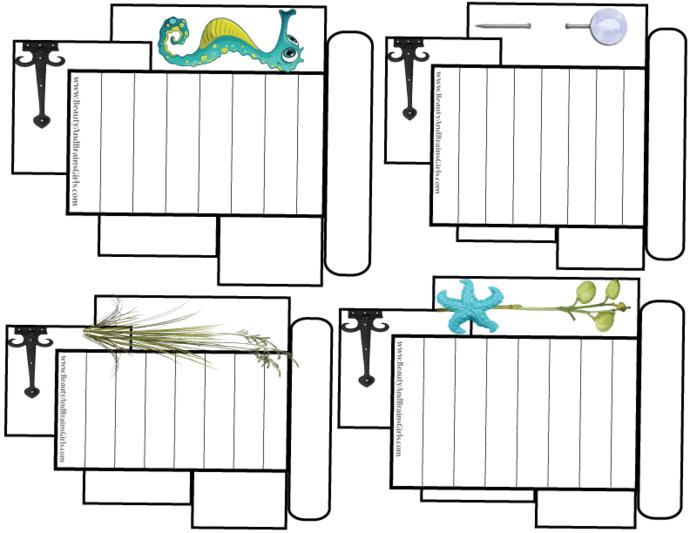 PDF 8 Journaling Cards Printable Journal Cards  Traveler's Notebook Journal