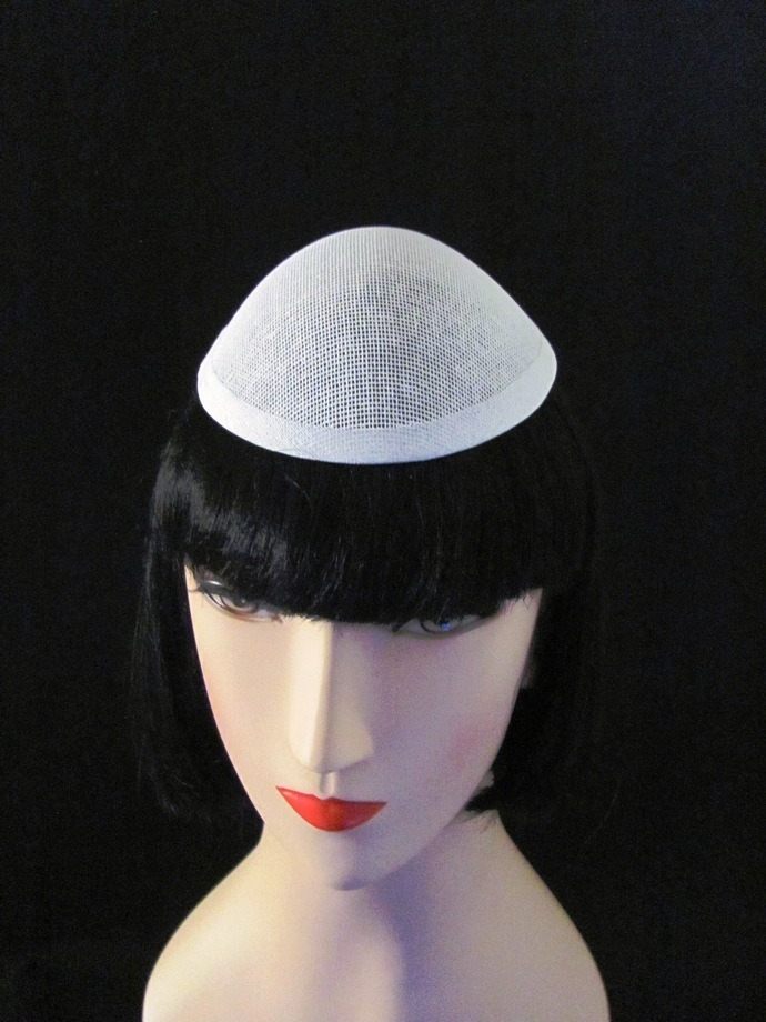 5 Pointy Rounded Dome Millinery Buckram Hat Frames for Fascinators and Hat
