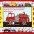 Fire Engine Truck Cross Stitch Pattern***LOOK*** INSTANT***DOWNLOAD***