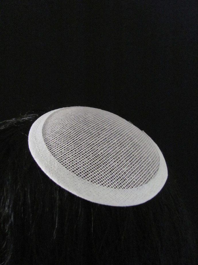 5 Small Round Buckram Millinery Hat Frames Hat Foundation and Fascinators
