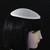 5 Tiny Tear Drop Buckram Hat Frames and Fascinator Base  Millinery Hat