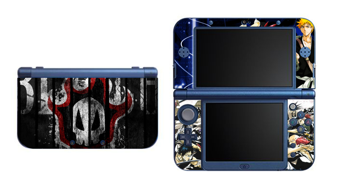 Bleach NEW Nintendo 3DS XL LL, 3DS, 3DS XL Vinyl Sticker / Skin Decal