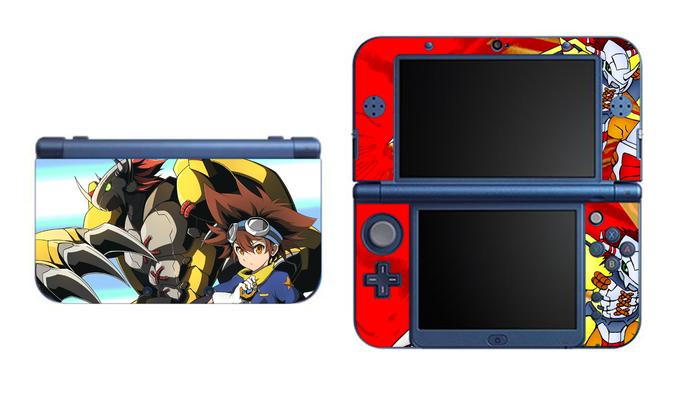 Digimon War Greymon NEW Nintendo 3DS XL LL, 3DS, 3DS XL Vinyl Sticker / Skin