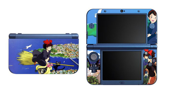 Kiki's Delivery Service NEW Nintendo 3DS XL LL, 3DS, 3DS XL Vinyl Sticker / Skin
