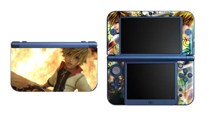 Kingdom Hearts Roxas NEW Nintendo 3DS XL LL, 3DS, 3DS XL Vinyl Sticker / Skin