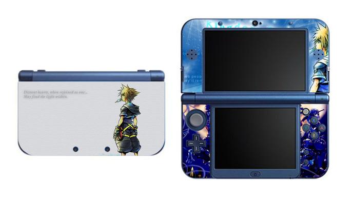 KINGDOM HEARTS Sora NEW Nintendo 3DS XL LL, 3DS, 3DS XL Vinyl Sticker / Skin