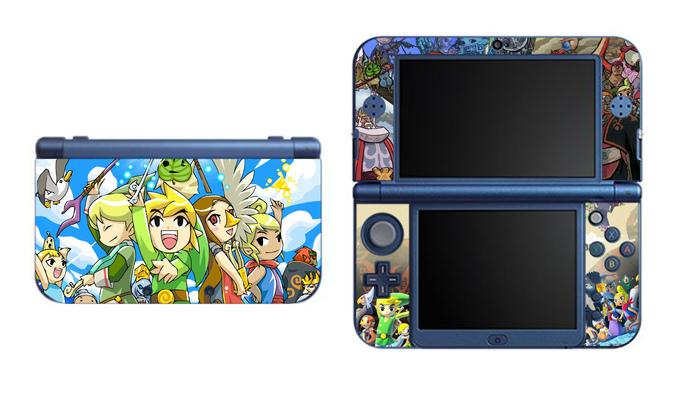 Legend of Zelda Wind Waker NEW Nintendo 3DS XL LL, 3DS, 3DS XL Vinyl Sticker /