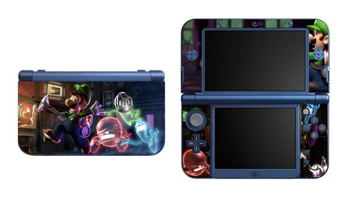 Luigi 's Mansion Dark Moon NEW Nintendo 3DS XL LL, 3DS, 3DS XL Vinyl Sticker /