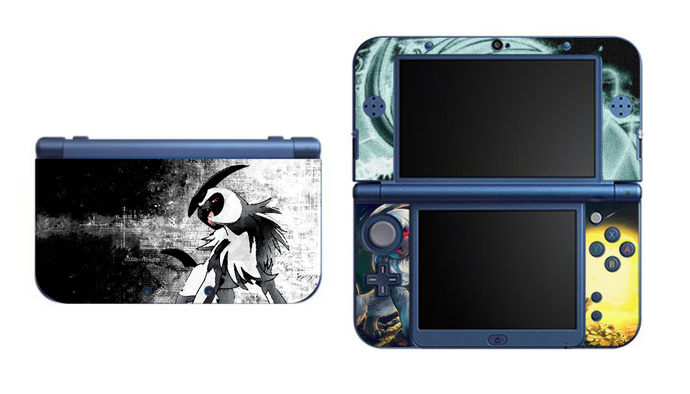 POKEMON  ABSOL NEW Nintendo 3DS XL LL, 3DS, 3DS XL Vinyl Sticker / Skin Decal
