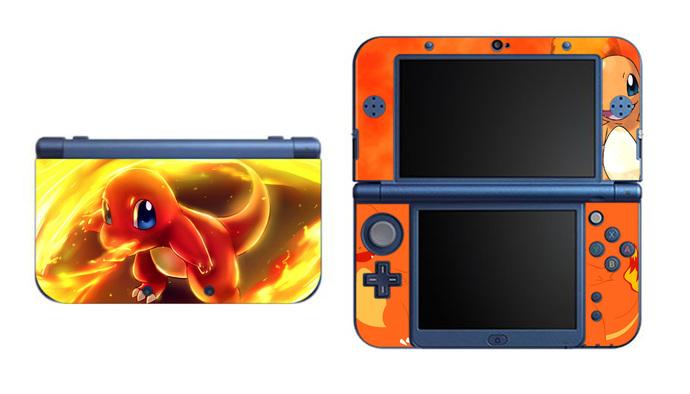 POKEMON CHARMANDER NEW Nintendo 3DS XL LL, 3DS, 3DS XL Vinyl Sticker / Skin