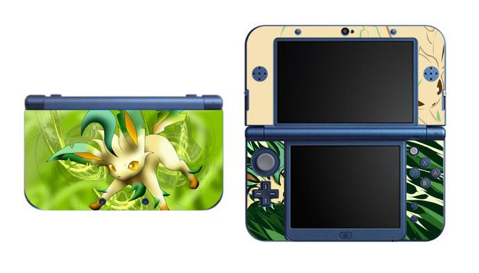 Pokemon Leafeon NEW Nintendo 3DS XL LL, 3DS, 3DS XL Vinyl Sticker / Skin Decal