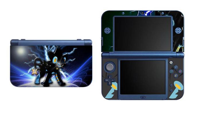 Pokemon Luxray NEW Nintendo 3DS XL LL, 3DS, 3DS XL Vinyl Sticker / Skin Decal