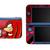 SONIC THE HEDGEHOG Knuckles NEW Nintendo 3DS XL LL, 3DS, 3DS XL Vinyl Sticker /
