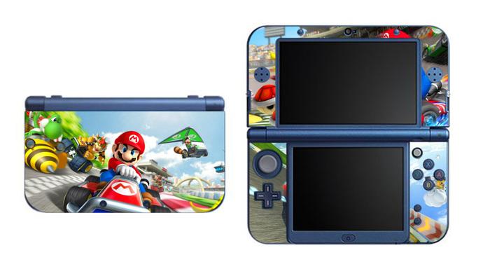 Super Mario Kart Bros Racing NEW Nintendo 3DS XL LL, 3DS, 3DS XL Vinyl  Sticker / Skin Decal