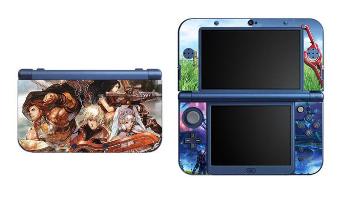 XENOBLADE Chronicles NEW Nintendo 3DS XL LL, 3DS, 3DS XL Vinyl Sticker / Skin