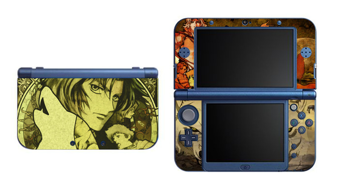 Wolf's Rain NEW Nintendo 3DS XL LL, 3DS, 3DS XL Vinyl Sticker / Skin Decal