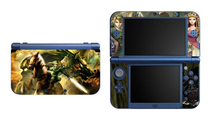 Zelda NEW Nintendo 3DS XL LL, 3DS, 3DS XL Vinyl Sticker / Skin Decal