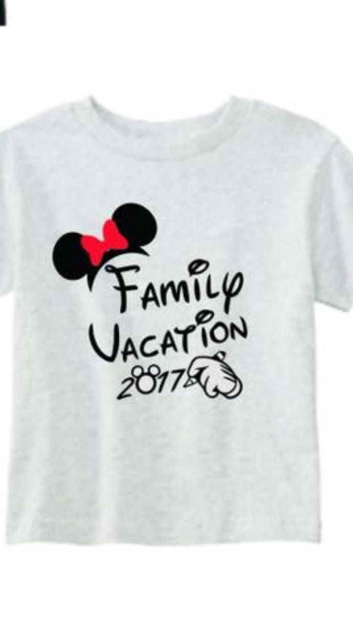 Custom disney family vacation shirts by creative creations for Custom t shirts family vacation