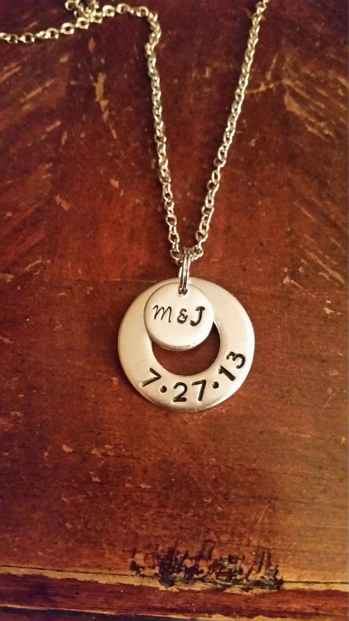 Engagement/wedding necklace