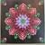 Flower Mandala Canvas Art