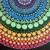 Color Wheel Mandala Art